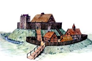 Early-Stone-Wood-Motte-Bailey-Castle