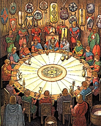 King Arthur Knights Round Table