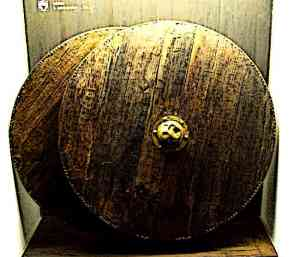 Early Wooden Medieval Knights Shield