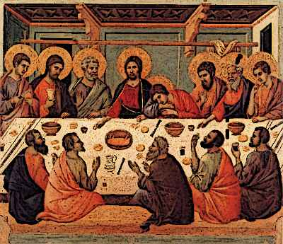 medieval painting by Duccio