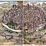 Medieval Jerusalem City Layout