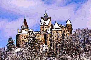 Bran Castle home of Vlad the impaler