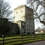 Early Medieval Castles Portchester Castle England