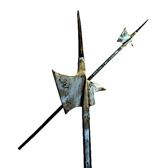 Medieval-Halberd-Weapon-Hallebarde-Pole-Axe Picture