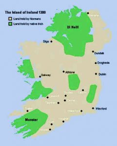 Land Held by the Irish People